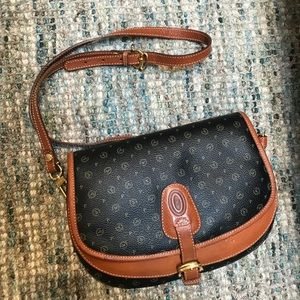 NEW POLLINI Italy Double Pocket Purse with Buckle